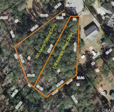 Manteo Residential Lots & Land For Sale: 180 Raleigh Wood Drive
