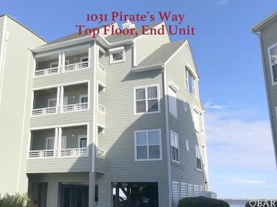 Manteo Condo/Townhouse For Sale: 1031 Pirates Way