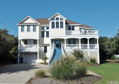 Duck, Corolla Single Family Home For Sale: 106 Halyard Court