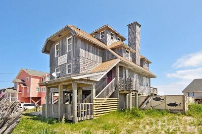 Rodanthe Single Family Home For Sale: 23257 Nc Highway 12