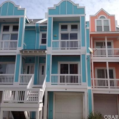 Kill Devil Hills Condo/Townhouse For Sale: 1102 B Cambridge Road