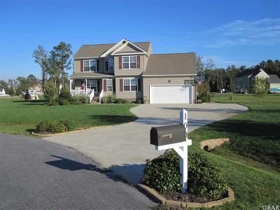 Elizabeth City Single Family Home For Sale: 100 Camelot Court