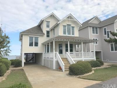 Manteo Single Family Home For Sale: 61 Ballast Point Drive