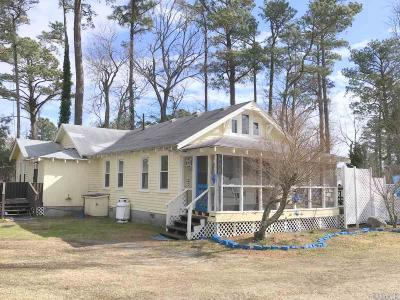 Wanchese NC Single Family Home For Sale: $159,000