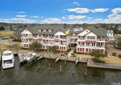 Manteo Condo/Townhouse For Sale: 202c Dartmoor Ave.
