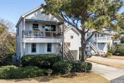 Nags Head Single Family Home For Sale: 124 W Marsh Cove Drive