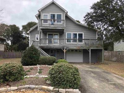 Kill Devil Hills Single Family Home For Sale: 3123 Bay Drive