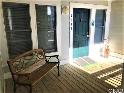 Manteo Condo/Townhouse For Sale: 1313 Ballast Point Drive