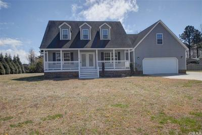 Aydlett NC Single Family Home For Sale: $269,900