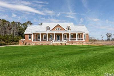 Powells Point Single Family Home For Sale: 165 Hog Quarter Road
