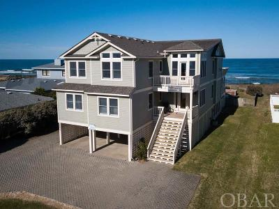 Southern Shores Single Family Home For Sale: 190 Ocean Boulevard