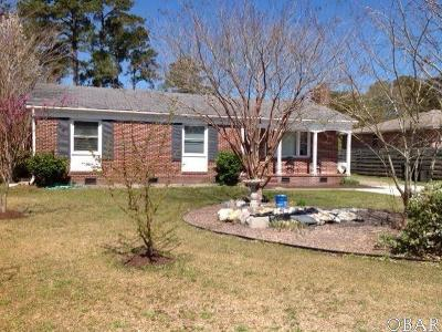 Manteo Single Family Home For Sale: 191 Scuppernong Road