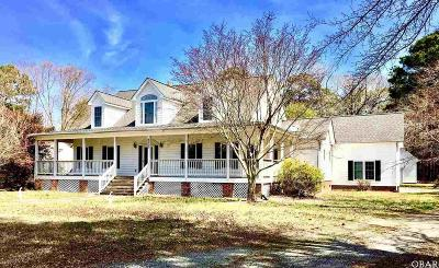 Grandy Single Family Home For Sale: 6205 Caratoke Highway