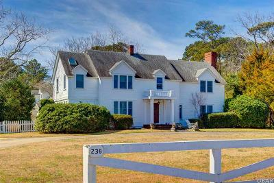 Manteo Single Family Home For Sale: 238 Mother Vineyard Road