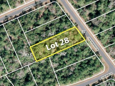 Manteo Residential Lots & Land For Sale: 169 Croatan Woods Trail