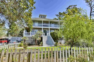 Manteo Single Family Home For Sale: 337 Mother Vineyard Road