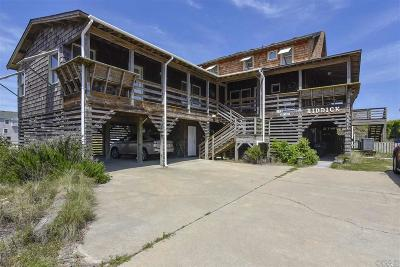 Nags Head Single Family Home For Sale: 3611 S Virginia Dare Trail