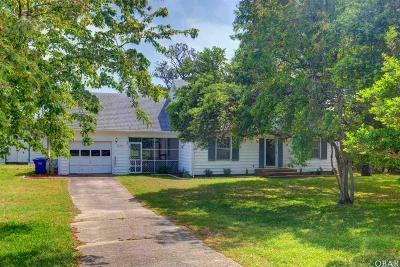 Single Family Home For Sale: 47791 Nc 12 Highway