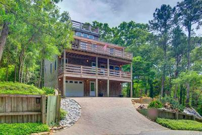 Kill Devil Hills Single Family Home For Sale: 109 Baycliff Trail