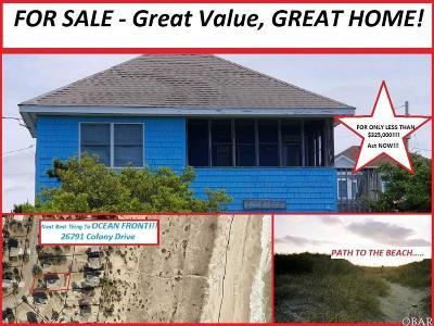 Salvo Single Family Home For Sale: 26791 Colony Drive