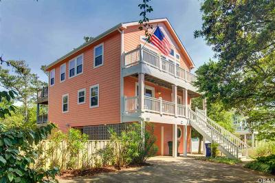 Nags Head NC Single Family Home For Sale: $525,000