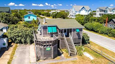 Nags Head Single Family Home For Sale: 3200 S Virginia Dare Trail
