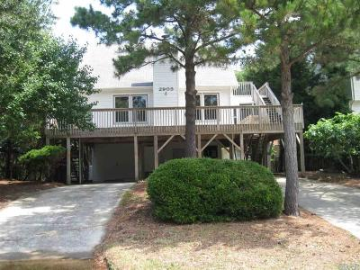Nags Head Single Family Home For Sale: 2905 S Lost Colony Drive