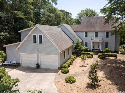 Southern Shores Single Family Home For Sale: 104 S Dogwood Trail