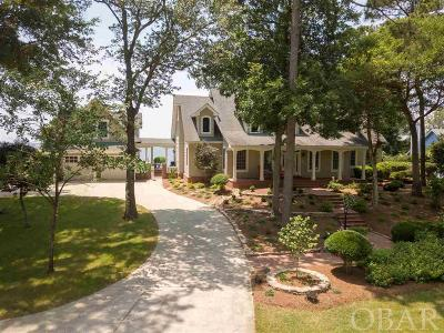Single Family Home For Sale: 6084 Currituck Road