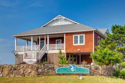 Hatteras Single Family Home For Sale: 58199 Hatteras Harbor Court