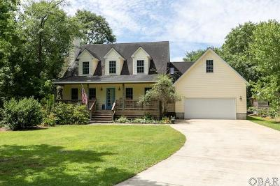 Manteo Single Family Home For Sale: 107 East Woodlands Drive