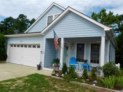Southern Shores Single Family Home For Sale: 17 Foxwood Circle