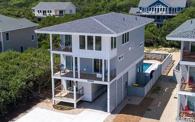 Southern Shores Single Family Home For Sale: 155 Ocean Boulevard