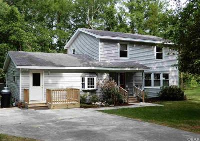 Manteo Single Family Home For Sale: 151 Cannon Trail