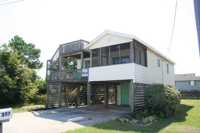 Kill Devil Hills NC Single Family Home For Sale: $229,000