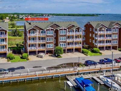 Manteo Condo/Townhouse For Sale: 405 N North Bay Club Drive