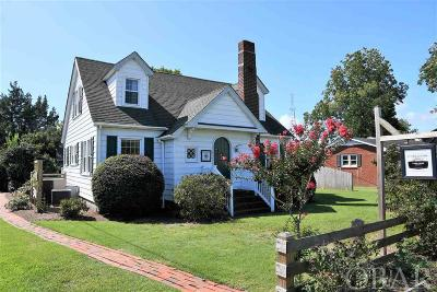 Manteo Single Family Home For Sale: 204 Devon Street