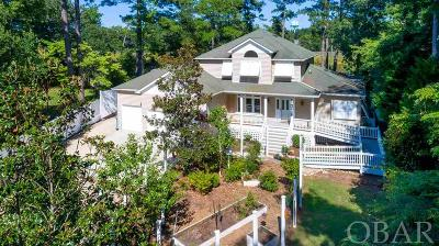Kitty Hawk Single Family Home For Sale: 1029 Creek Road