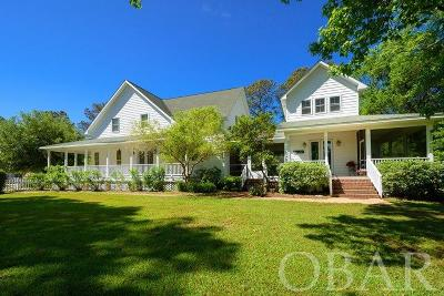 Manteo NC Single Family Home For Sale: $555,000