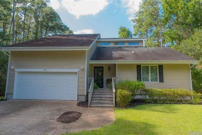 Manteo Single Family Home For Sale: 122 Dolphin Drive