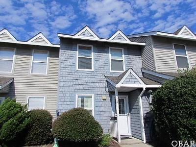 Kitty Hawk Condo/Townhouse For Sale: 204 Kitty Hawk Road
