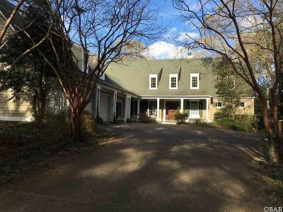 Kitty Hawk Single Family Home For Sale: 1057 Creek Road