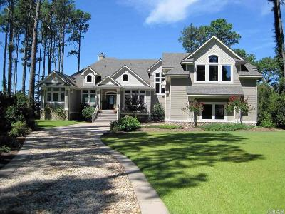 Kitty Hawk, Southern Shores Single Family Home For Sale: 7060 Currituck Road