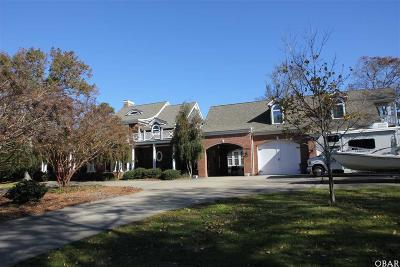 Kitty Hawk, Southern Shores Single Family Home For Sale: 4001 Creek Road