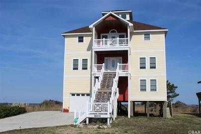 Nags Head Single Family Home For Sale: 7600 Cedar Island