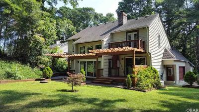 Kitty Hawk Single Family Home For Sale: 2012 Creek Road
