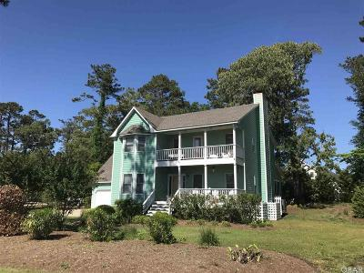 Kitty Hawk Single Family Home For Sale: 4009 Martins Point Road