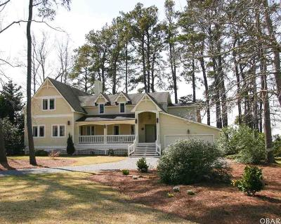 Kitty Hawk Single Family Home For Sale: 4048 Martins Point Road