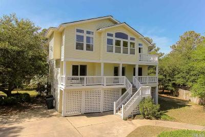 Kitty Hawk, Southern Shores Single Family Home For Sale: 321 Hillcrest Drive
