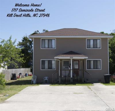 Kill Devil Hills Multi Family Home For Sale: 1717 Seminole Street